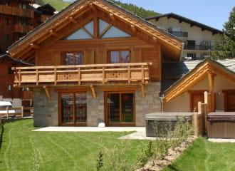 Chalet Faverot 2 : chalet  de 180 m² pour 10 personnes aux Deux Alpes (station de ski)