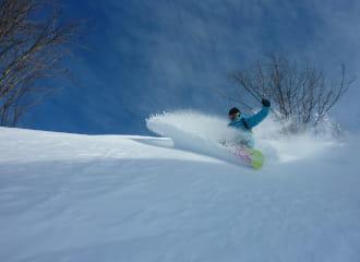 Ski alpin à la Plagne Centre
