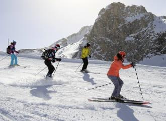 Ski alpin à Val d'Isère