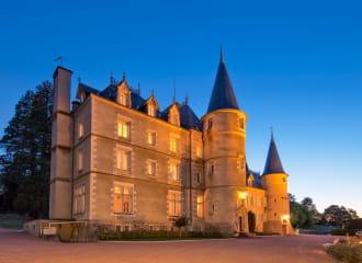 Chambre Pomme d'Amour - Château de Saint Alyre