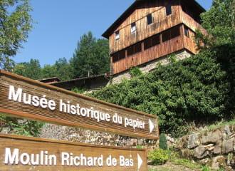 Moulin Richard de Bas, musée historique du papier