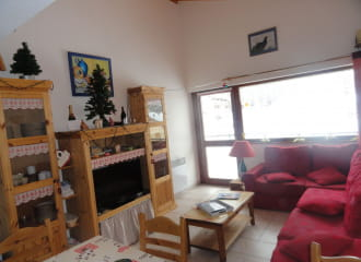 Résidence Les Balcons Des Curtious - Apartment 2 rooms cabine 6 people - TA7